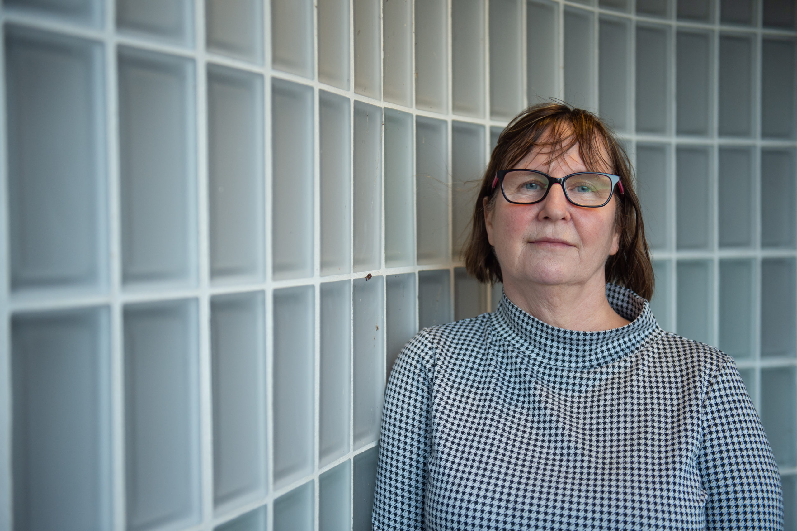 Elle Johnston, manager of Moray Women's Aid. Picture by Jason Hedges.