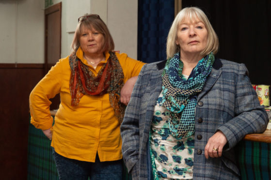 Group member and Strathisla community councillor Rhona Patterson (left) and group organiser and Keith councillor Theresa Coull  Picture by Jason Hedges