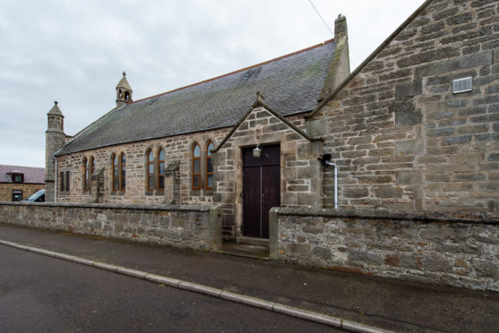 Burghead Community Hall in Burghead, Moray. Pictures by Jason Hedges.