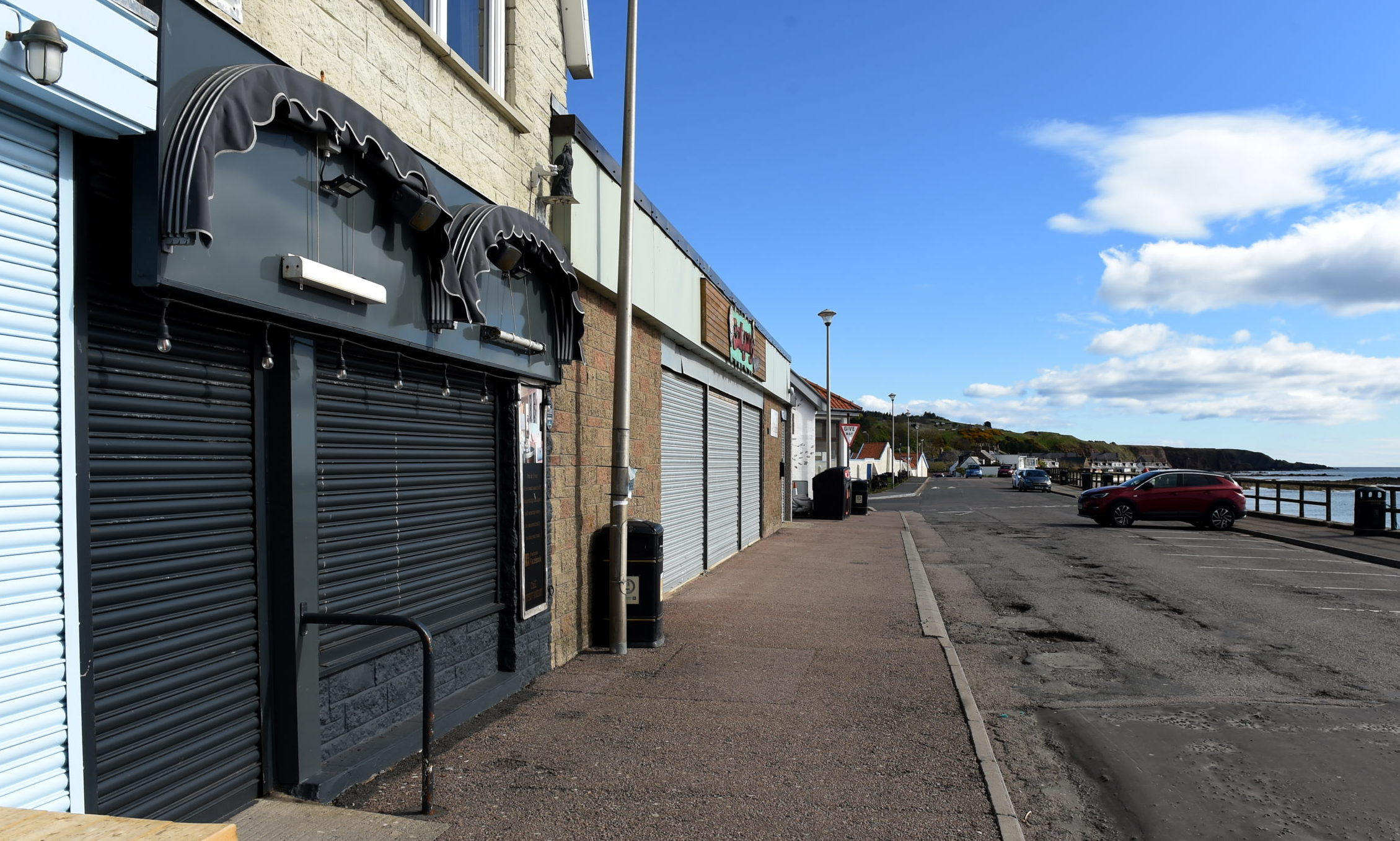 Aunt Betty's, The Promenade, Stonehaven. Picture by Kenny Elrick