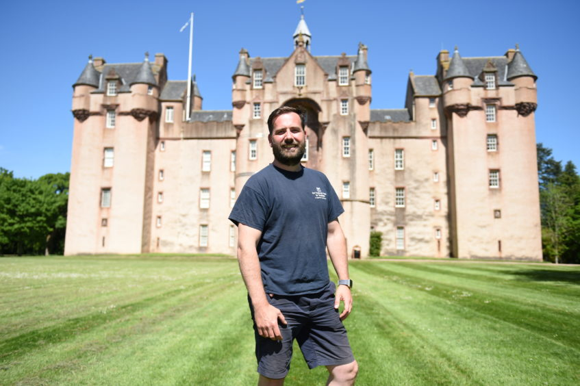 Fyvie Castle gardener, Stuart Stockley will be taking people on a fascinating tour round the Walled Garden of Scottish Fruit.