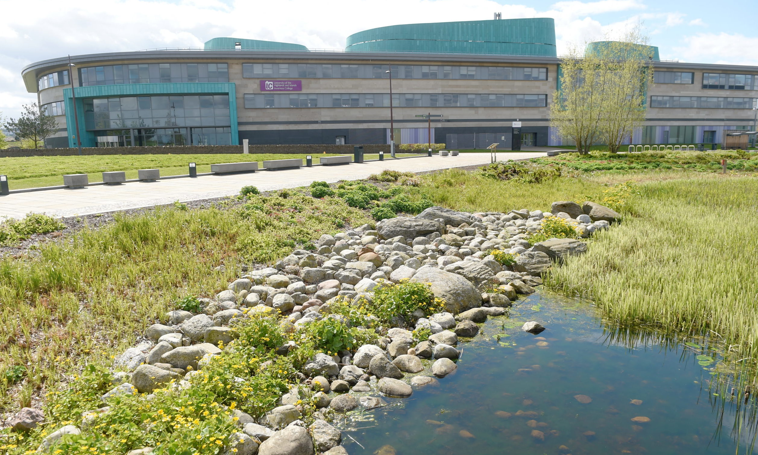 Inverness College UHI Campus. Picture by Sandy McCook