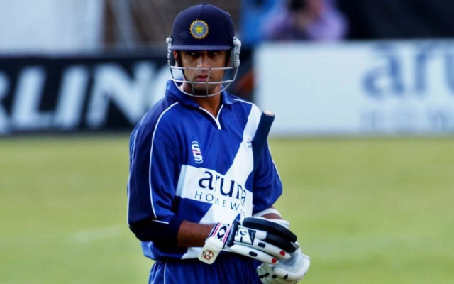 Rahul Dravid played for Scotland in the 2003 Totesport League season.