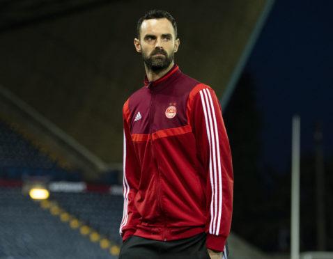 Aberdeen captain Joe Lewis.
