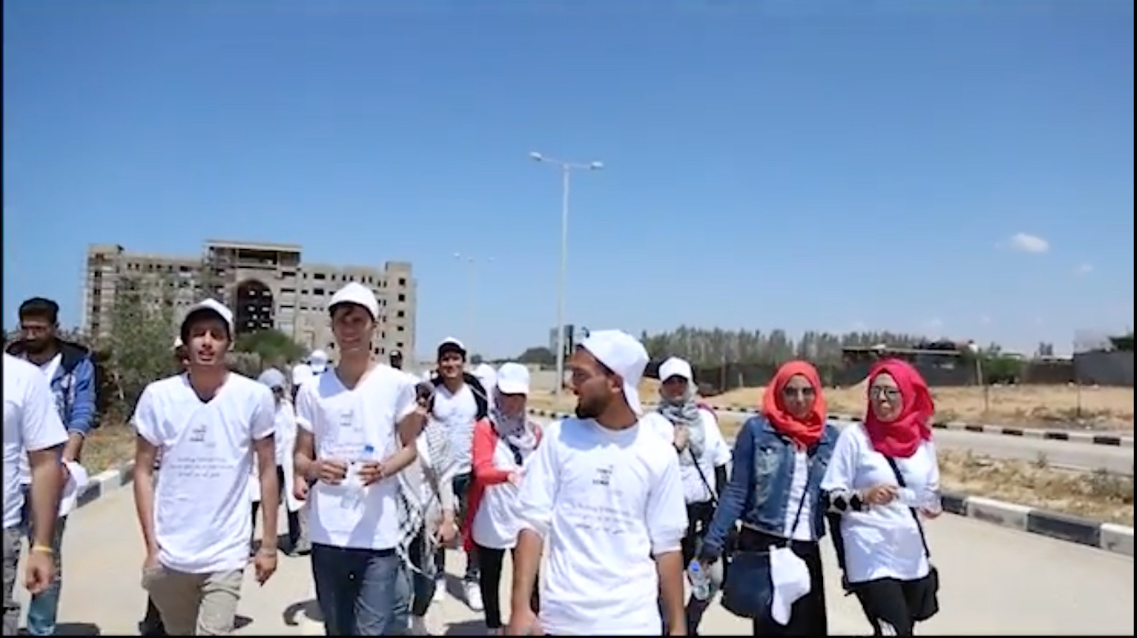 Slow Marathon 2018 (Gaza) courtesy of Deveron Projects
