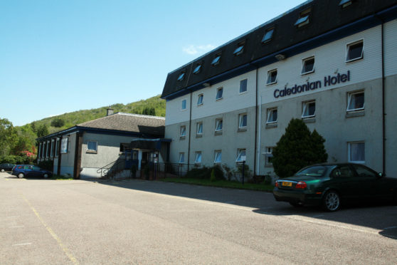 The Caledonian Hotel Fort William.