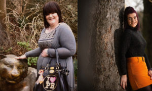 Kirsty Maxwell before and after her weight loss