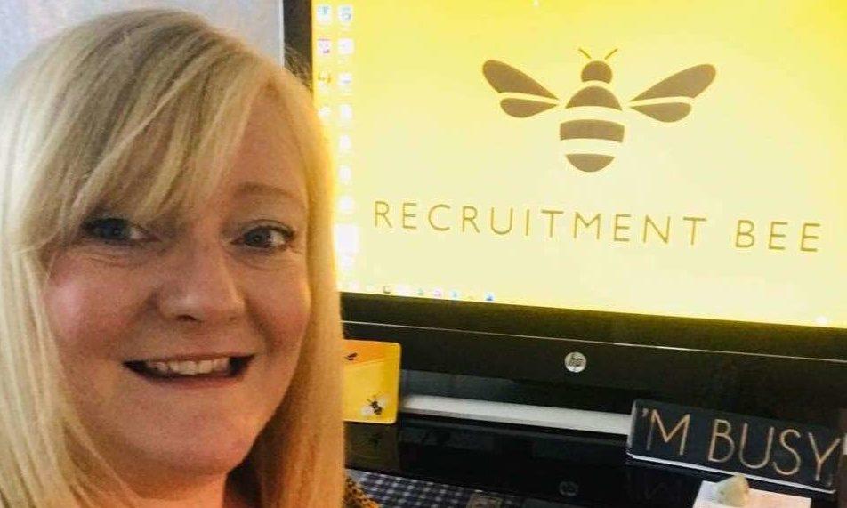 Lorraine Westley, owner of Recruitment Bee (Scotland) Ltd
