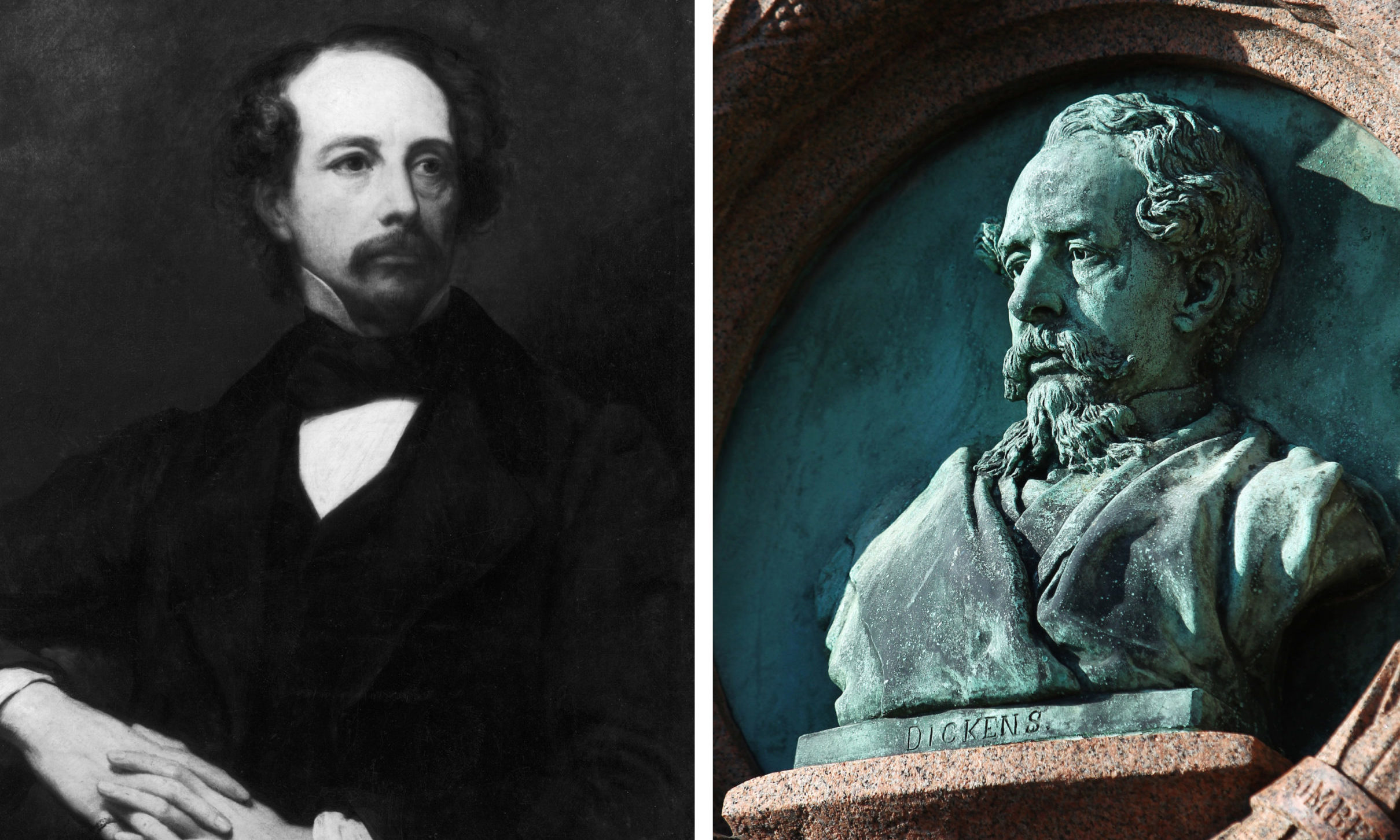 Charles Dickens visited Aberdeen and spoke at the Music Hall.