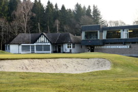 Pictured is a locator of Hazlehead Golf Club, Hazlehead, Aberdeen. The MacKenzie course at the club is set to close for a year. Picture by DARRELL BENNS     Pictured on 23/02/2018