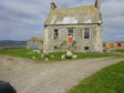 The 18th century Hall of Clestrain in Orkney.