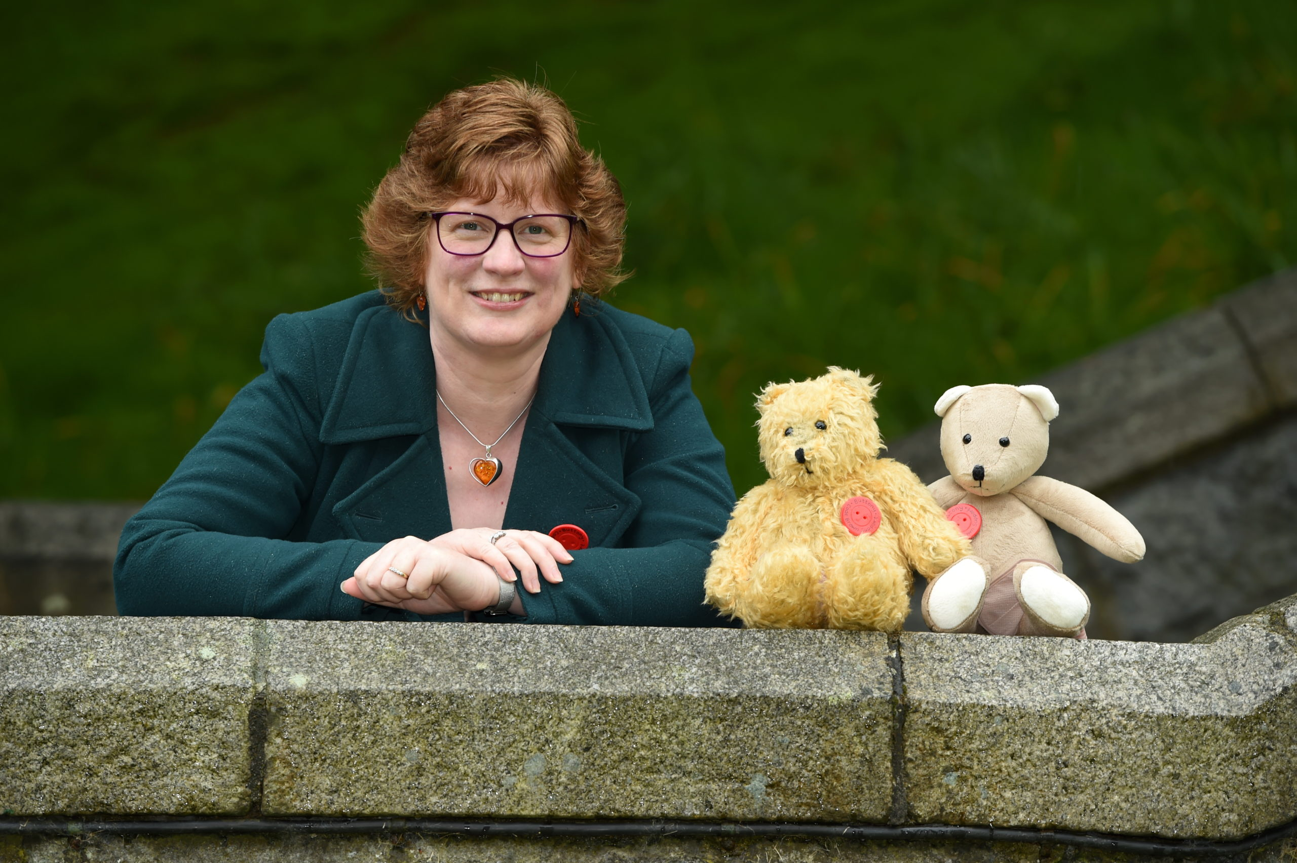 Jennifer Gow launched the Buttony Bear project five years ago.