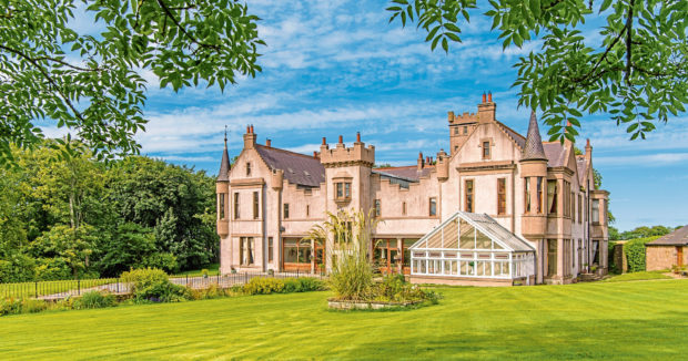 Tillycorthie Mansion House in Udny, Aberdeenshire,