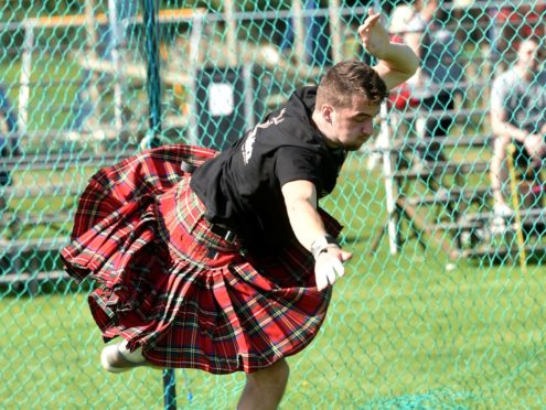 """George Evans says he was hitting """"massive"""" throws in training before lockdown.  Picture by Colin Rennie"""