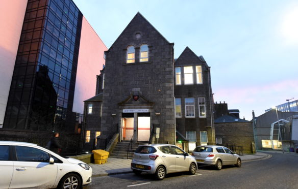 Aberdeen Cyrenians' headquarters in Summer Street. Telephone and video appointments have replaced face-to-face chats during lockdown.