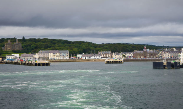 Stornoway Harbour featured often in Machair.