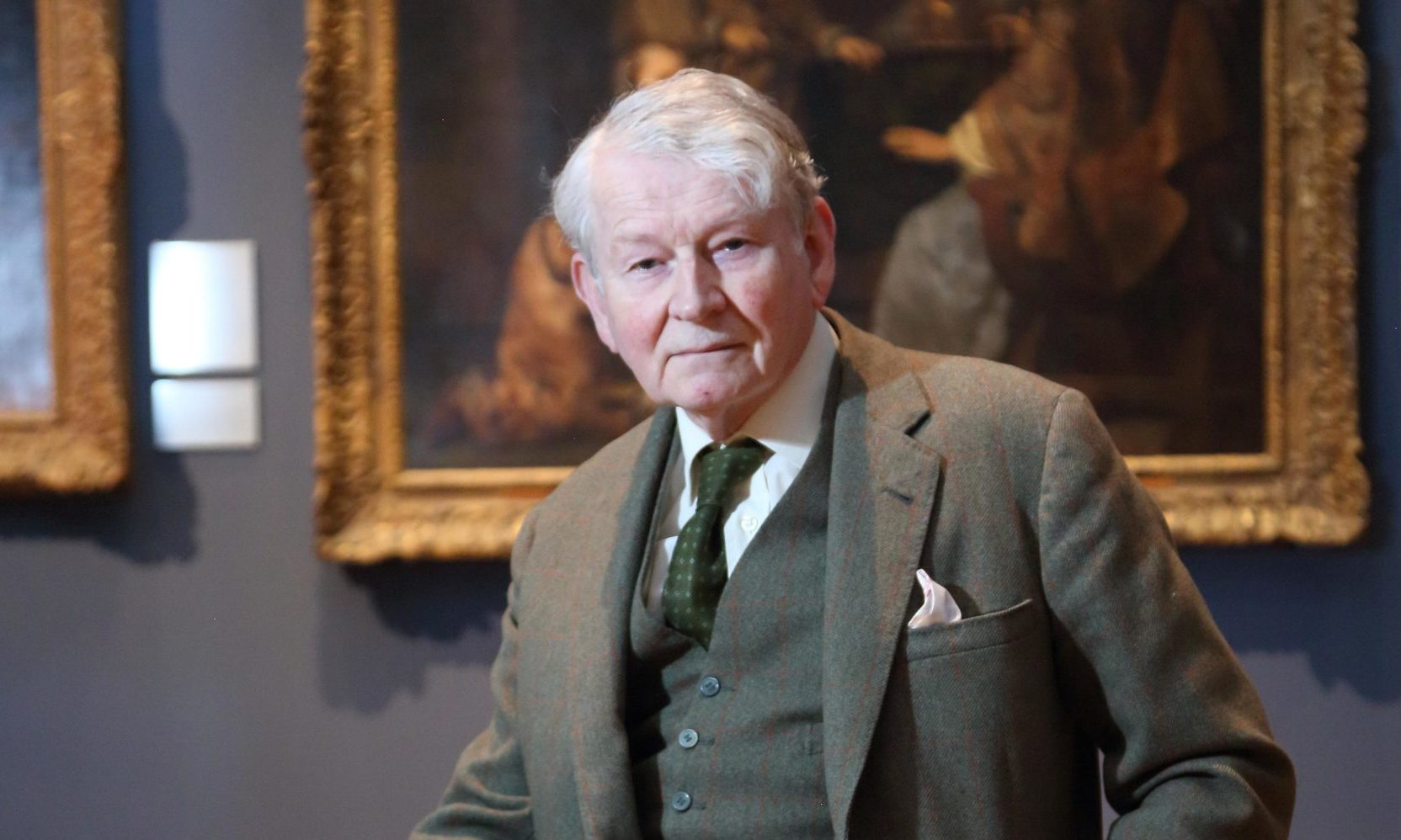 Former child actor Jon Whiteley photographed at the Ashmolean museum in Oxford.
