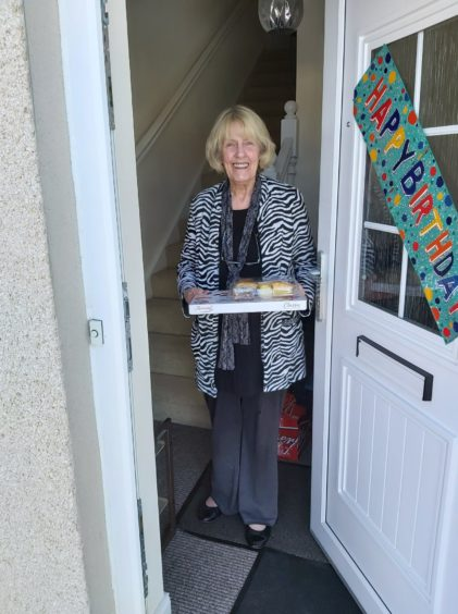 Eighty boxes have been delivered around Inverness