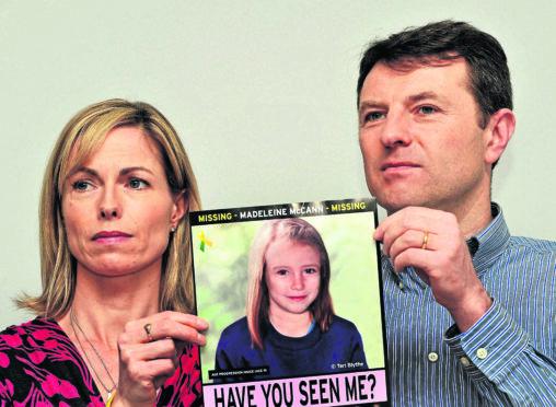 Madeleine McCann's parents Gerry and Kate McCann in 2012.