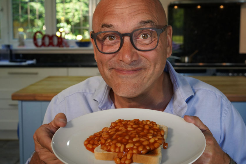 Gregg Wallace on Inside the Factory.