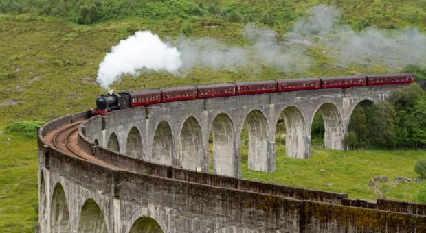 Glenfinnan Viaduct is one of the highlights of the West Highland Line.