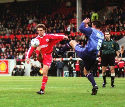 David Rowson in his Aberdeen days.