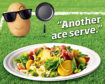 The 'Bud the Spud' visual campaign by AHDB.