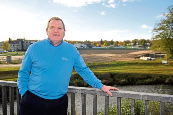 Elgin City chairman Graham Tatters