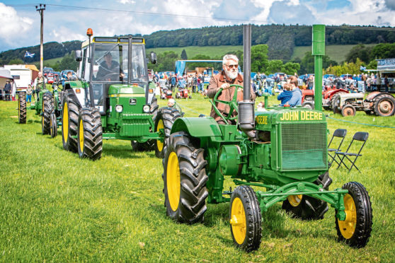 The online event will include a vintage farm machinery competition - just upload your picture
