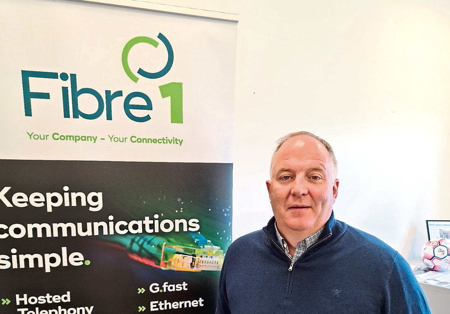 Stewart Macdonald, managing director of Fibre 1