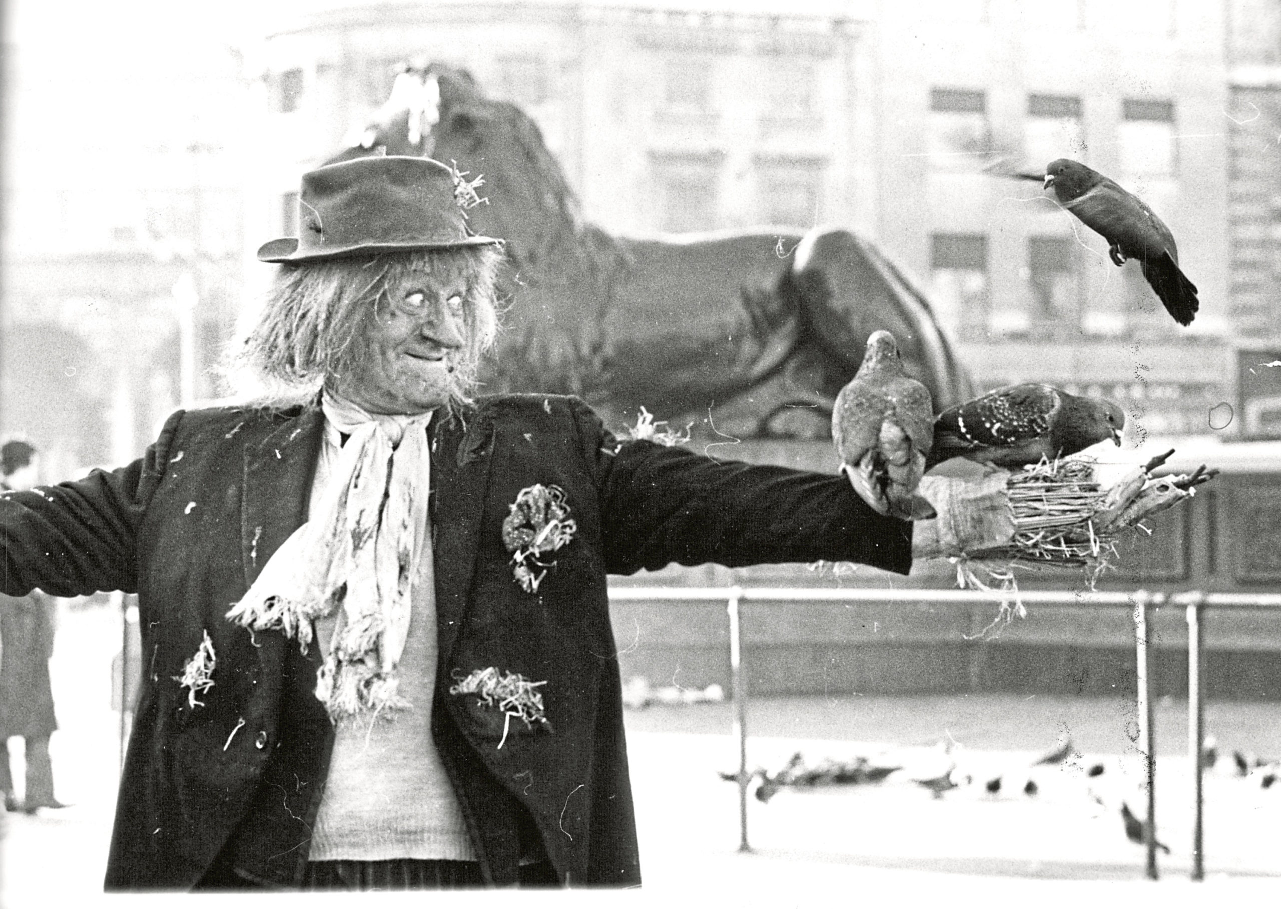 TOUSLED EXAMPLE: Scarecrow Worzel Gummidge was known for his straw hair and less than well groomed appearance