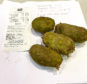 Green Jersey Royals bought in the Anstruther Co-op.