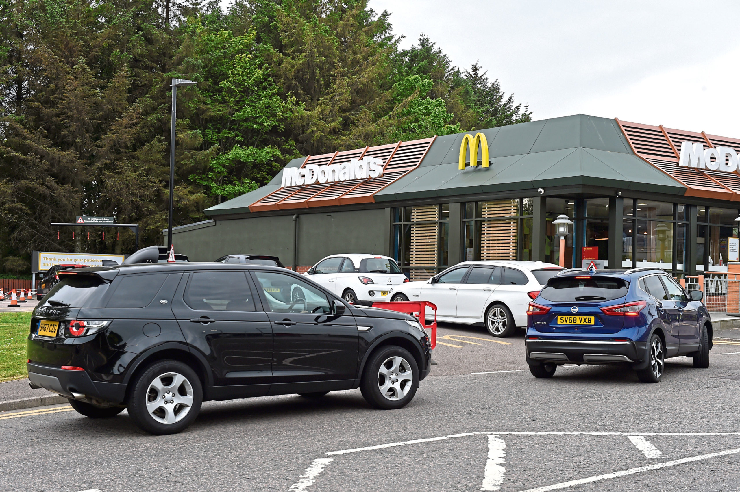McDonalds at Broadfold Road in Bridge of Don, Aberdeen. Picture by Kenny Elrick