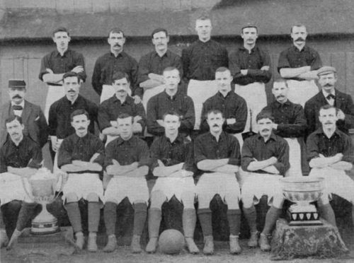 The Liverpool side which played in Torry.