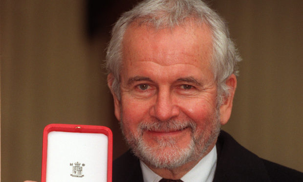 Sir Ian Holm was dubbed a knight by the Queen in 1998.