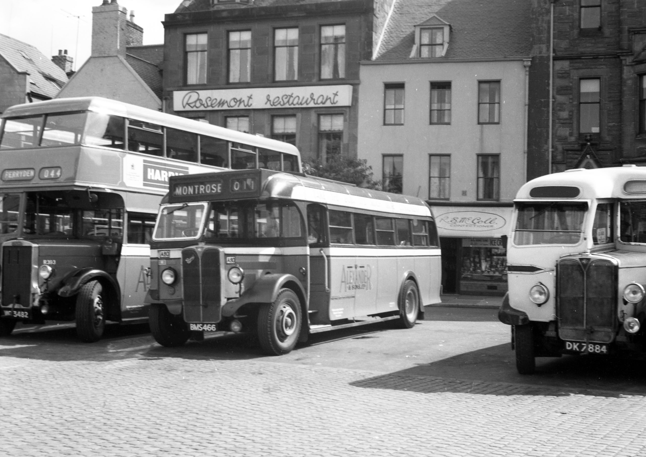 Henry Conn's new book highlights the Walter Alexander buses of the 1950s and 1960s.