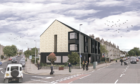 An artist's impression of VSA's planned Abergeldie House in Aberdeen.