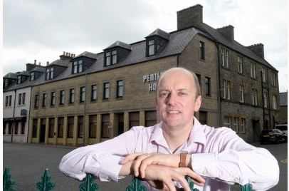 Andrew Mackay of The Caithness Collection hotel group