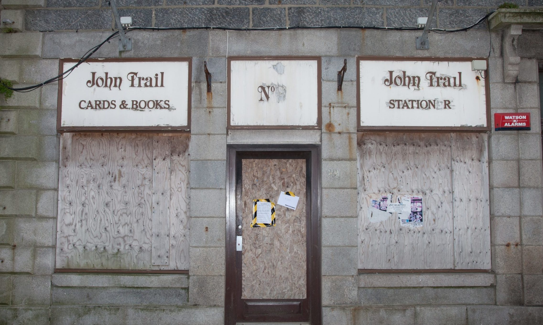 John Trail Cards and books shop in Fraserburgh