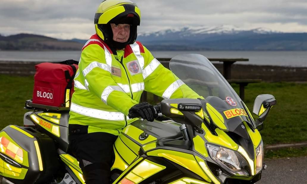The Caithness bike will be Highland and Islands Blood Bikes' fifth.