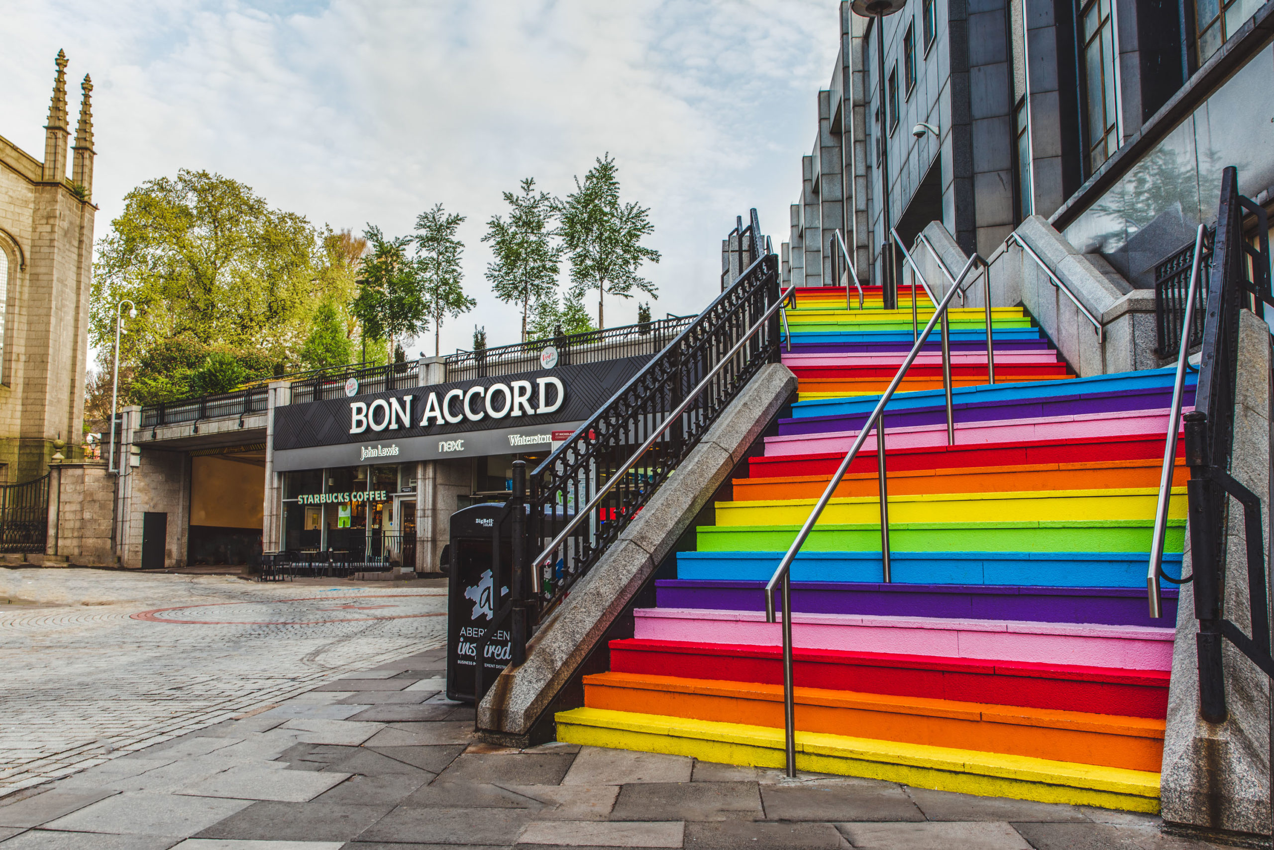 The Bon Accord Centre in Aberdeen is one of a number of shopping malls set to reopen in full on July 13.