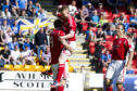 Scott Vernon and Jonny Hayes celebrate together during their time with Aberdeen