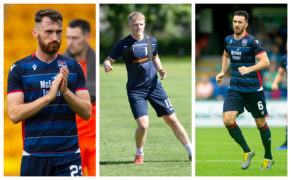 Ross County trio stuck on the sidelines