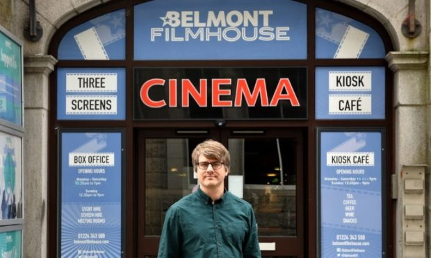 Colin Farquhar, head of cinema operations at Belmont Filmhouse.