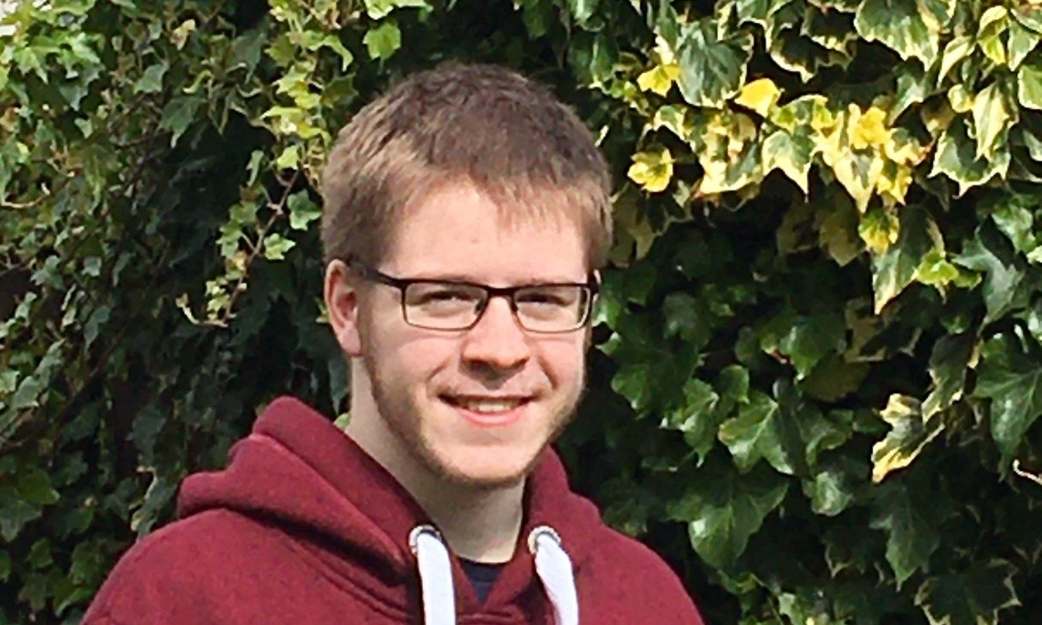 Culloden Academy student Donald Campbell.