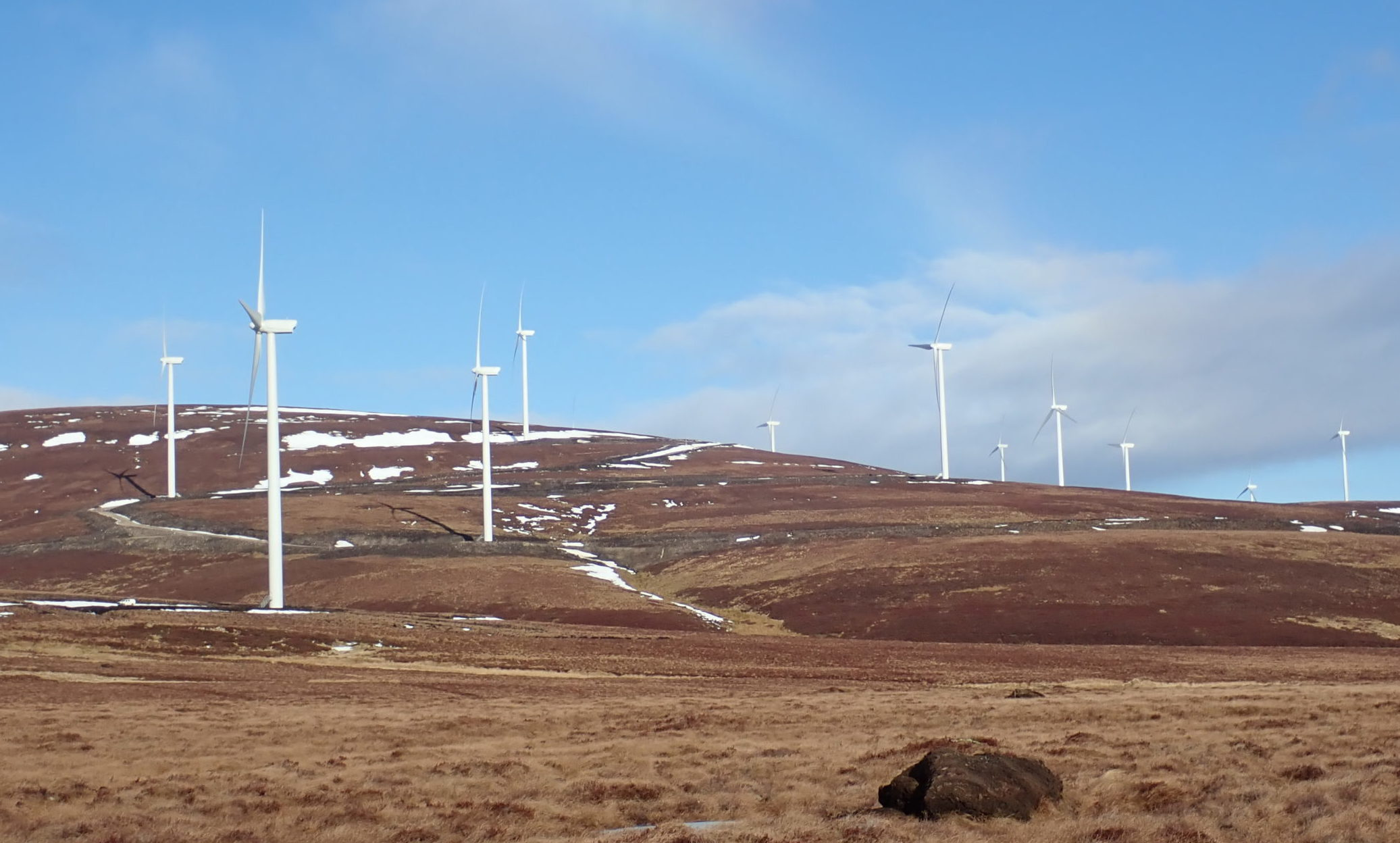 Dorenell windfarm.