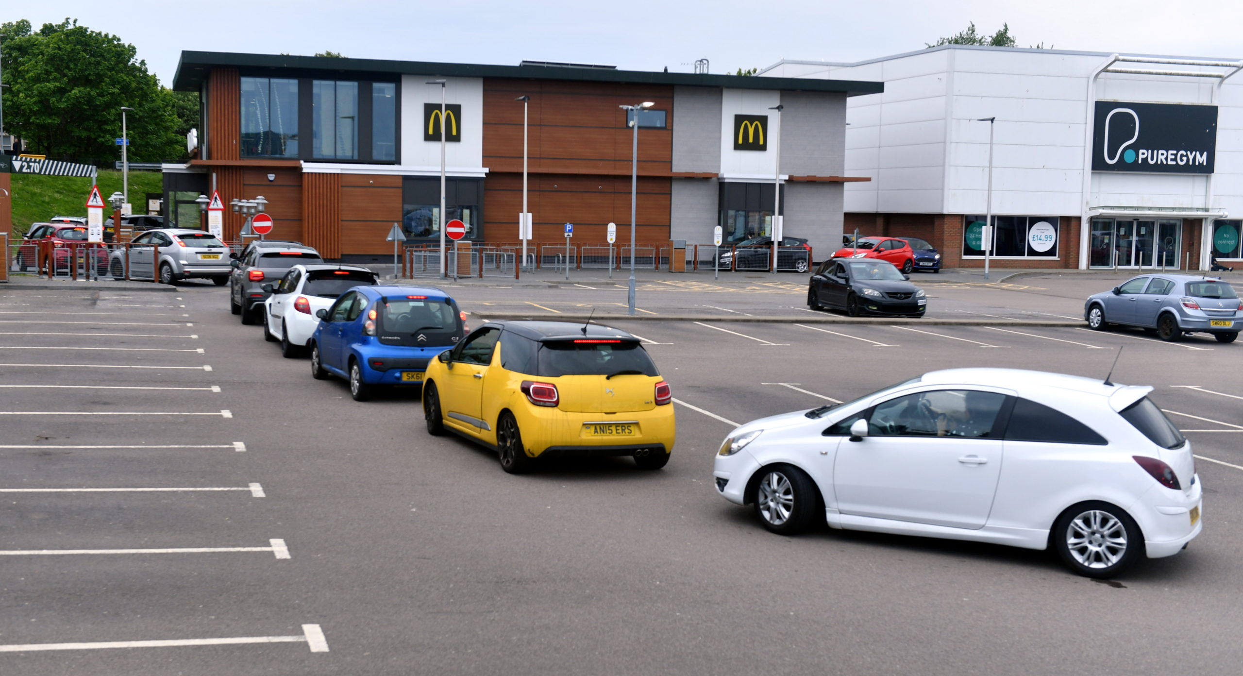McDonald's at Kittybrewster retail park. Picture by Chris Sumner.