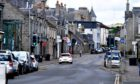 West High Street, Inverurie. 20mph could become the norm on minor roads in built-up areas and designated town centres across Aberdeenshire. Picture: Chris Sumner.