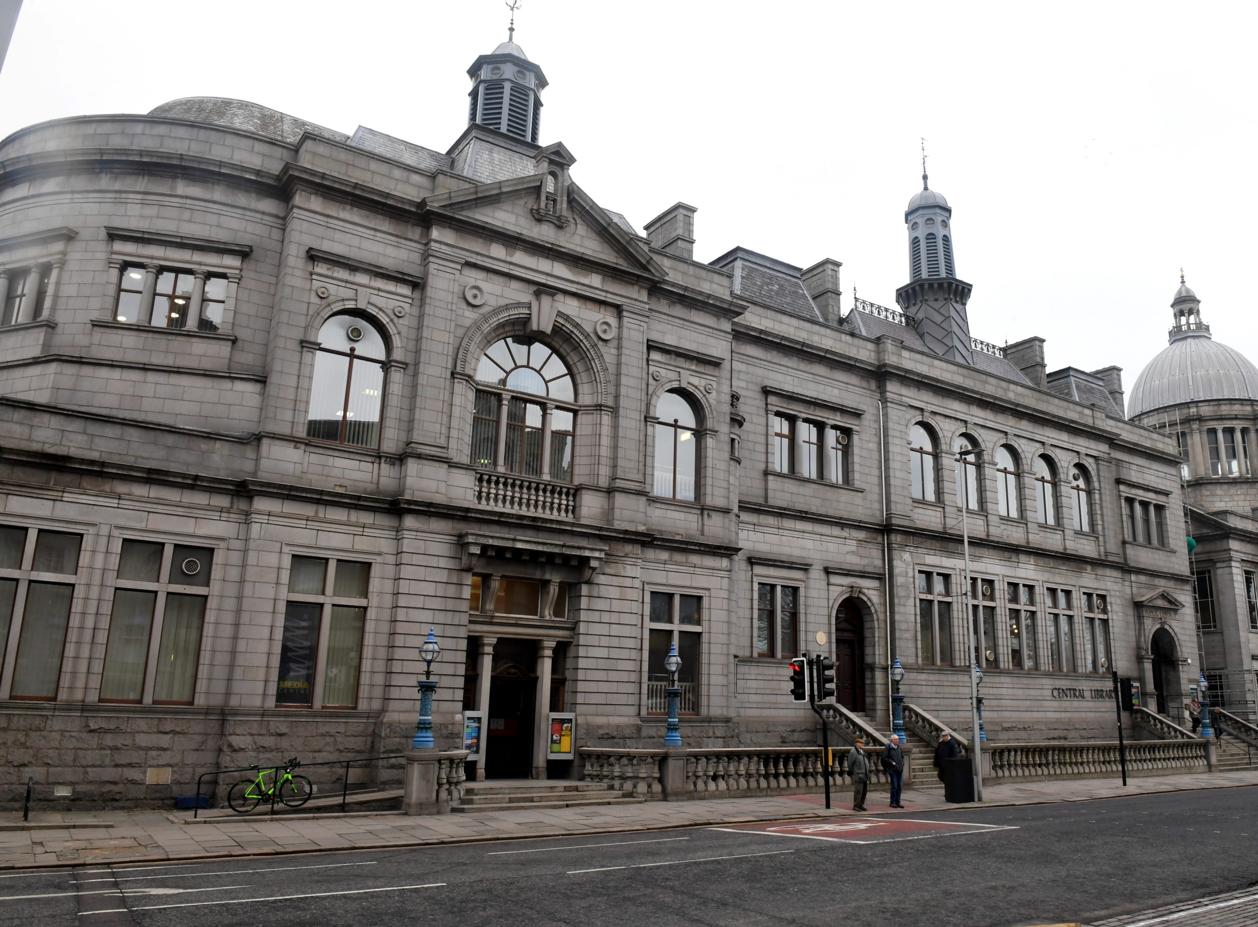 A wealth of books are available to pick up at libraries across the north-east. Pictured is Aberdeen Central Library.