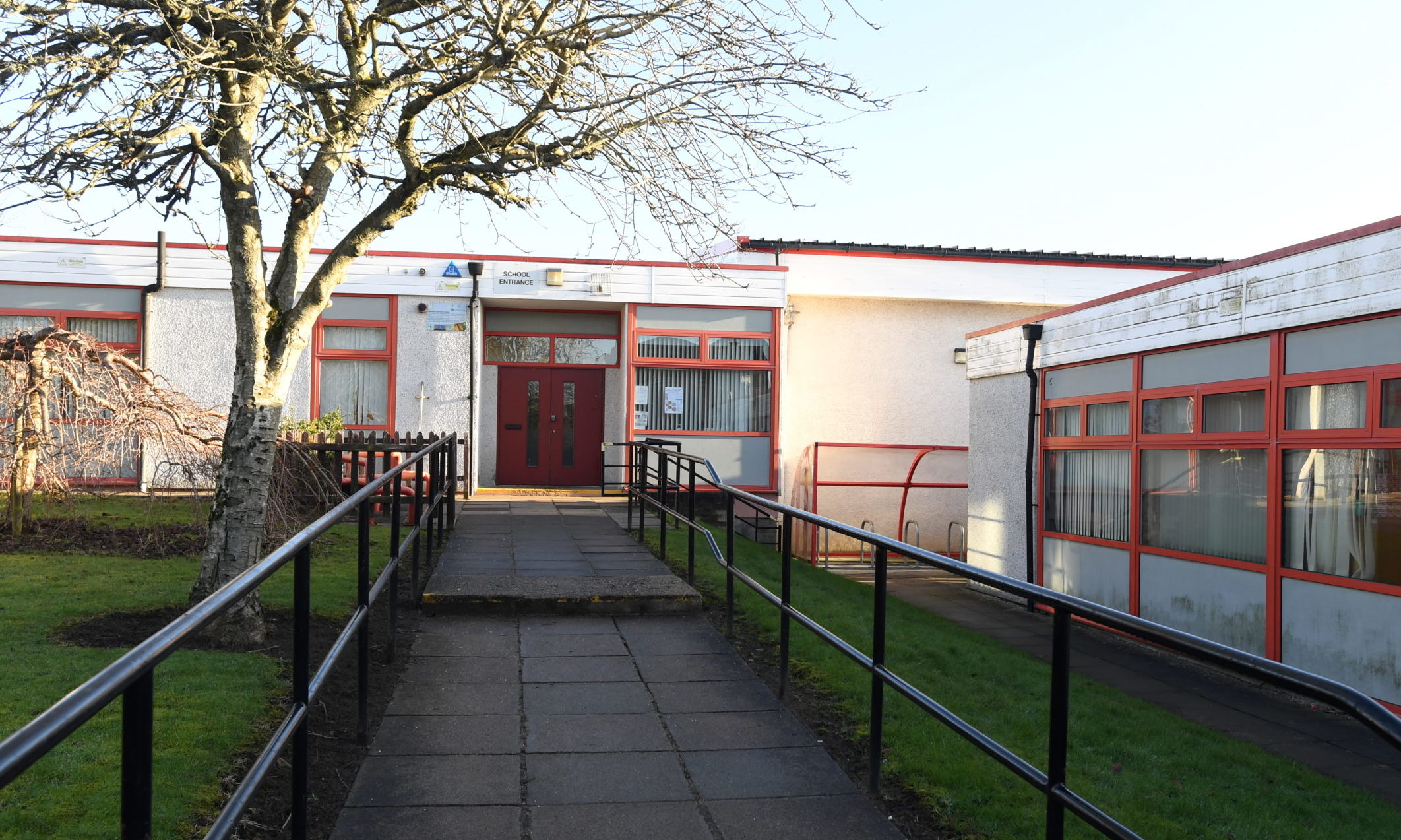 Milltimber Primary School. Picture by Chris Sumner